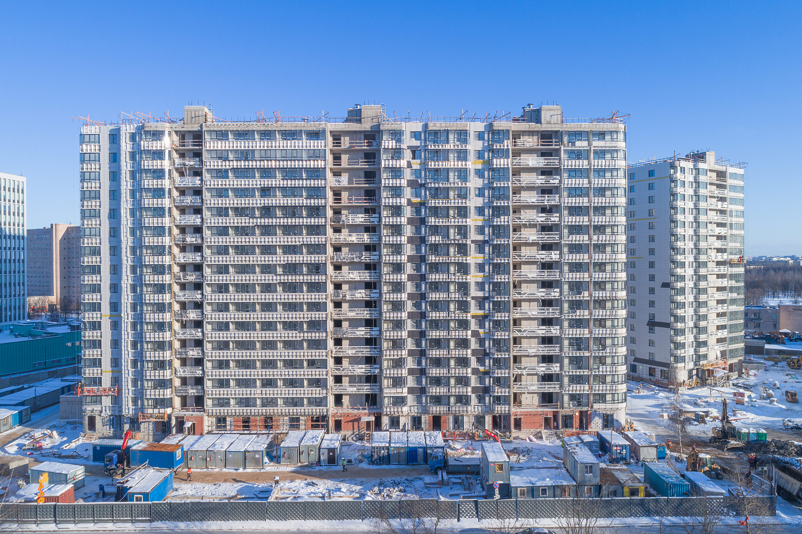 Ход строительства ЖК «Дом на Львовской» в феврале 2021