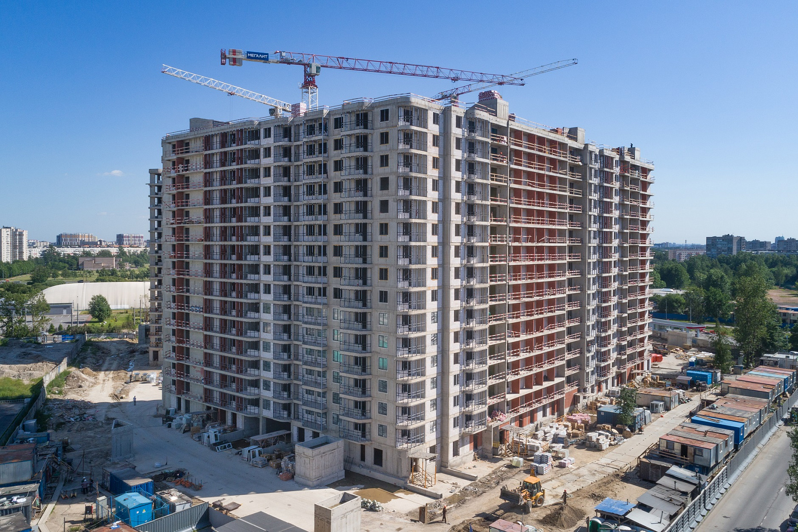 Ход строительства ЖК «Дом на Львовской» в июне 2020