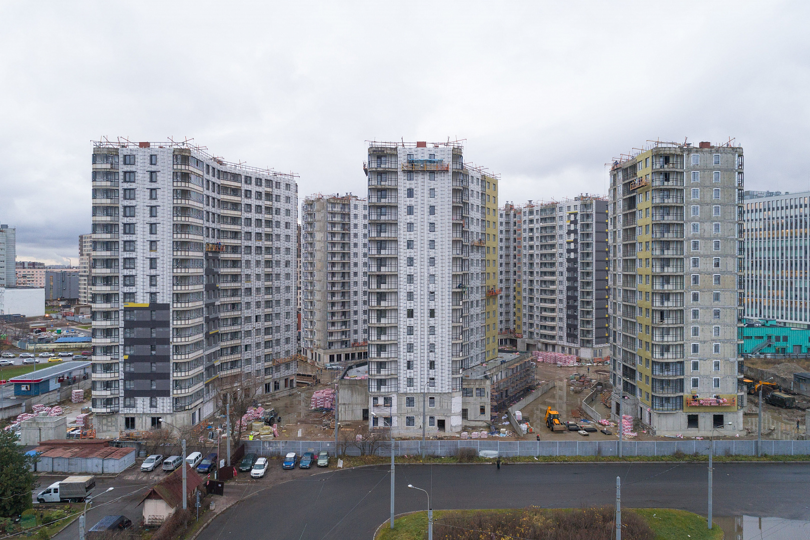 Ход строительства ЖК «Дом на Львовской» в ноябре 2020